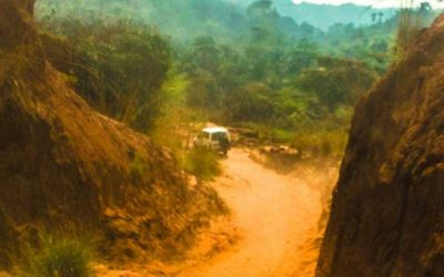 DRC Malaria Team Arrives in Nyanga Despite Complicated Travel Conditions